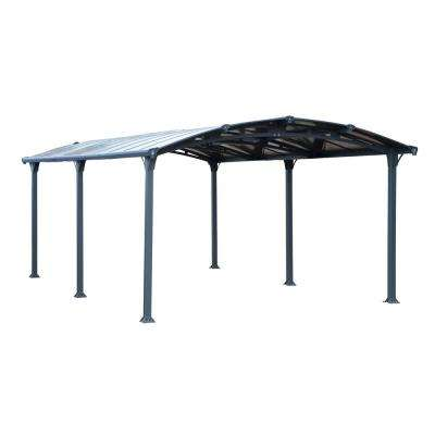 Arcadia 6400 12 ft  x 21 ft  Car Canopy and shelter Carport