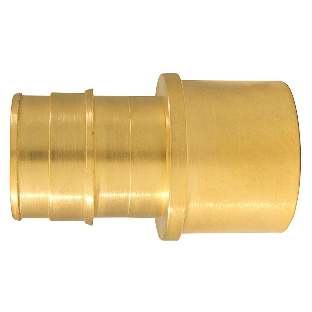 1 in. Brass PEX-A Expansion Barb x 1 in. Female Sweat