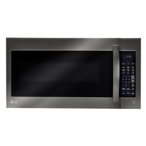 2.0 cu. ft. Over the Range Microwave in Black Stainless Steel with Sensor Cook