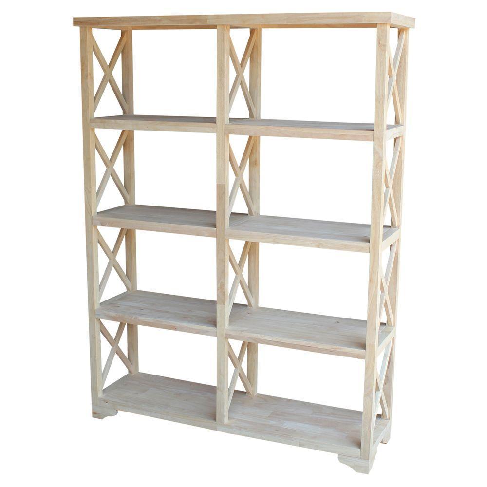 Open Bookcase Wood Hampton