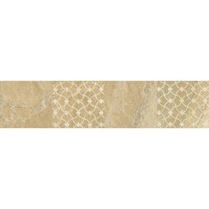 Click here to buy Daltile Ayers Rock Golden Ground 3 inch x 13 inch Glazed Porcelain Decorative Accent Floor... by Daltile.