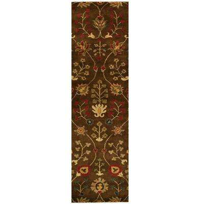 Provincial Autumn Wool 3 ft. x 8 ft. Runner Rug