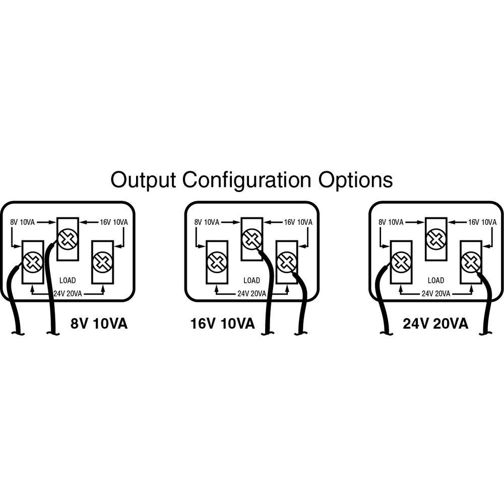 wired door bell trivolt transformer compatible with all video door bells