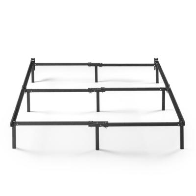 Compack Twin/Full/Queen Black Metal Adjustable Bed Frame