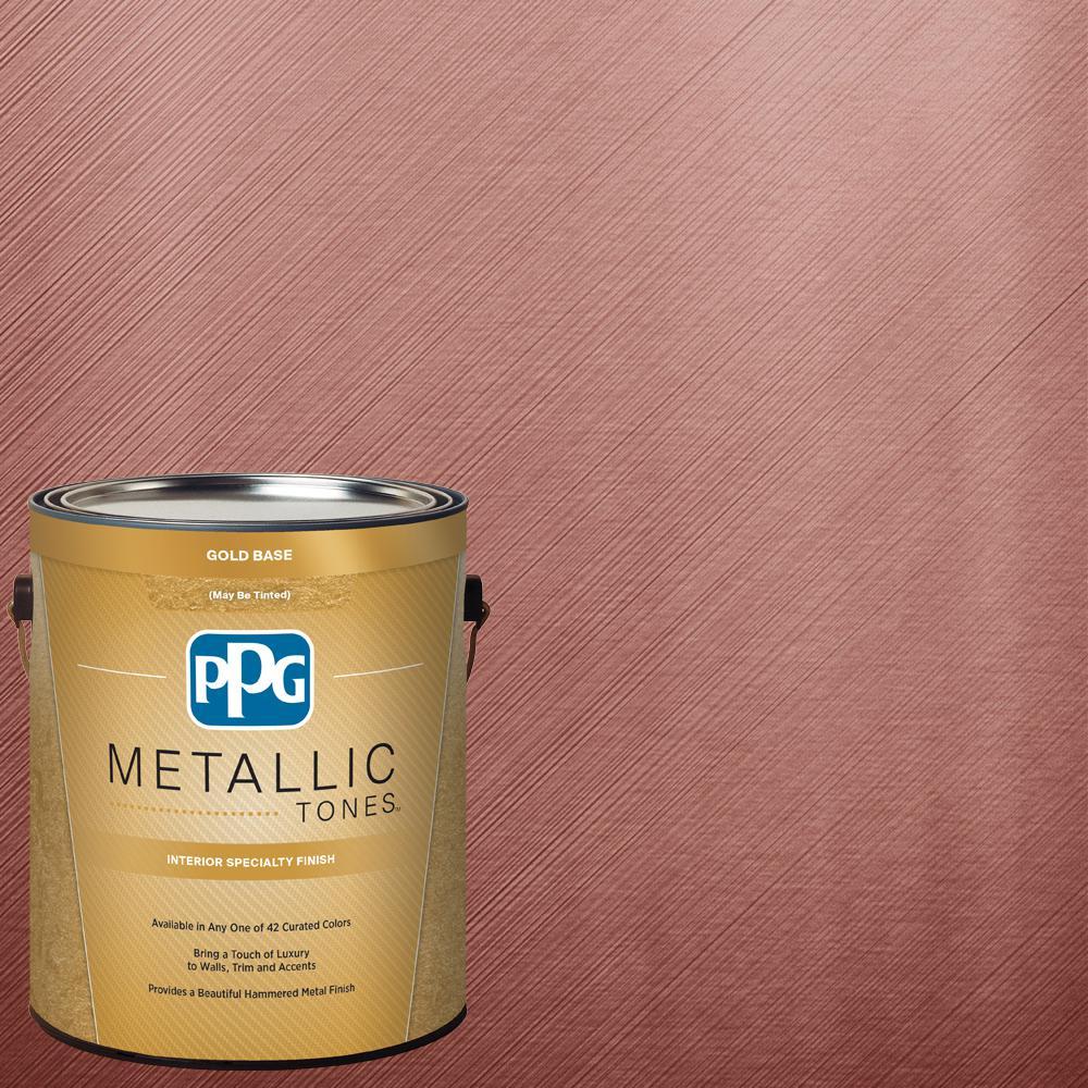 1  gal. #MTL142 Sanguine Metallic Interior Specialty Finish Paint