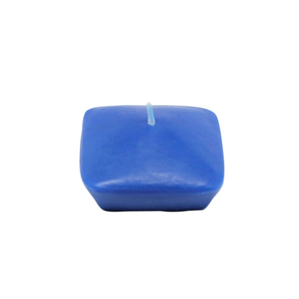 2-1/4 in. Blue Square Floating Candles (12-Box)