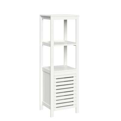 Bayfield 15.75 in. W Linen Tower in White
