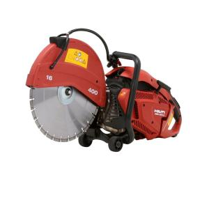 hilti dsh 900x 90cc 16 in held gas saw with blades
