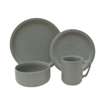 Bryndale Grey 16-Piece Dinnerware Set