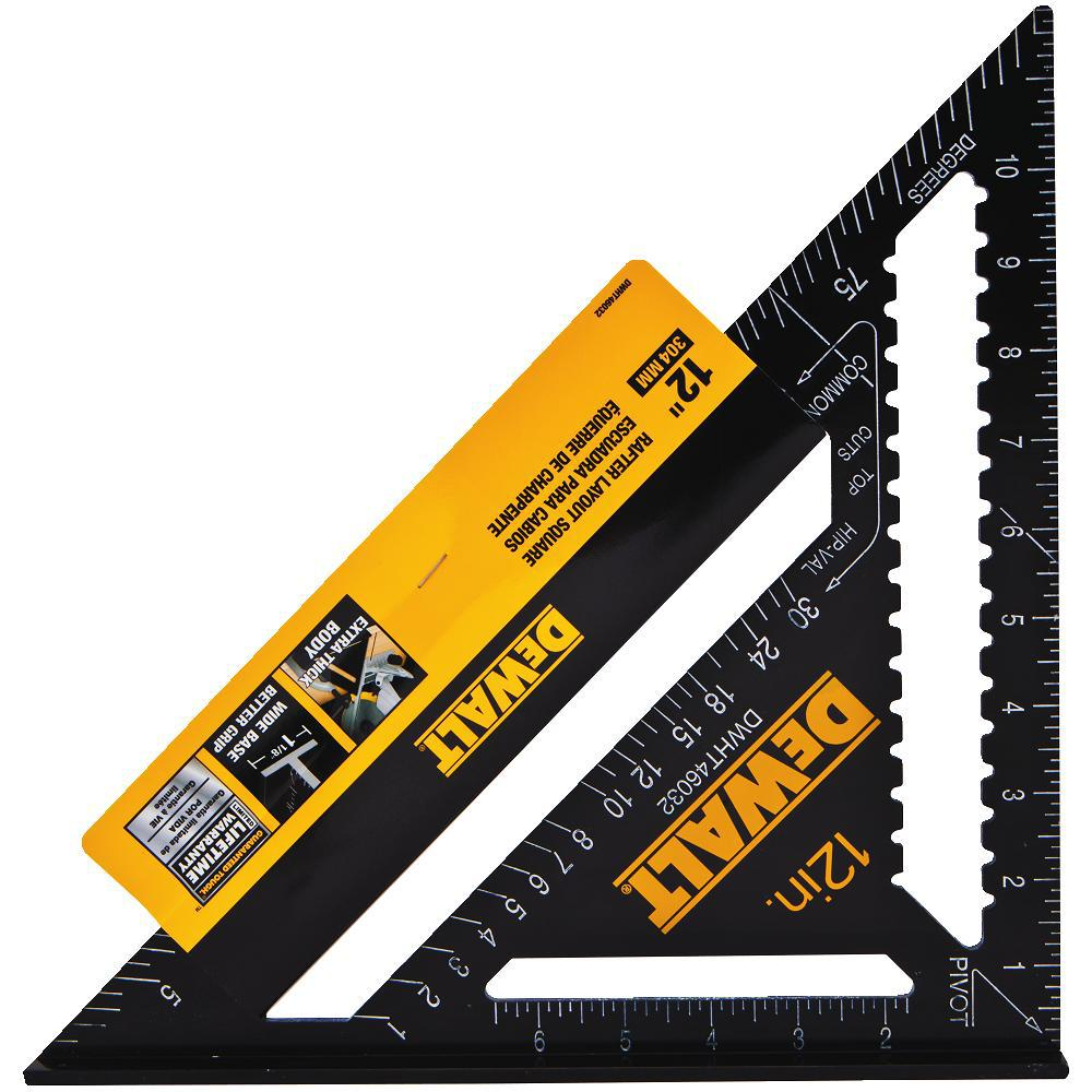 Dewalt 12 In Quick Square Dwht46032 The Home Depot