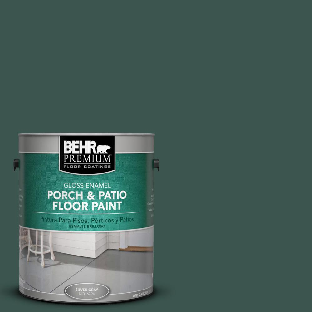 1 gal. #BXC-33 Jolly Green Gloss Porch and Patio Floor Paint