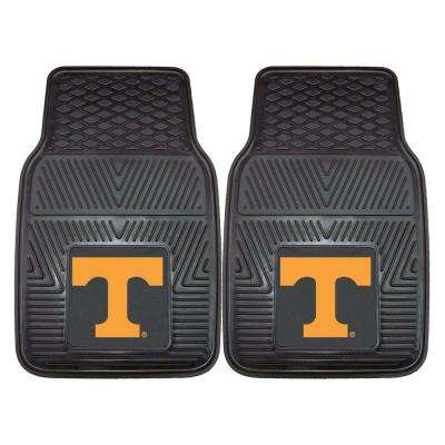 University of Tennessee 18 in. x 27 in. 2-Piece Heavy Duty Vinyl Car Mat
