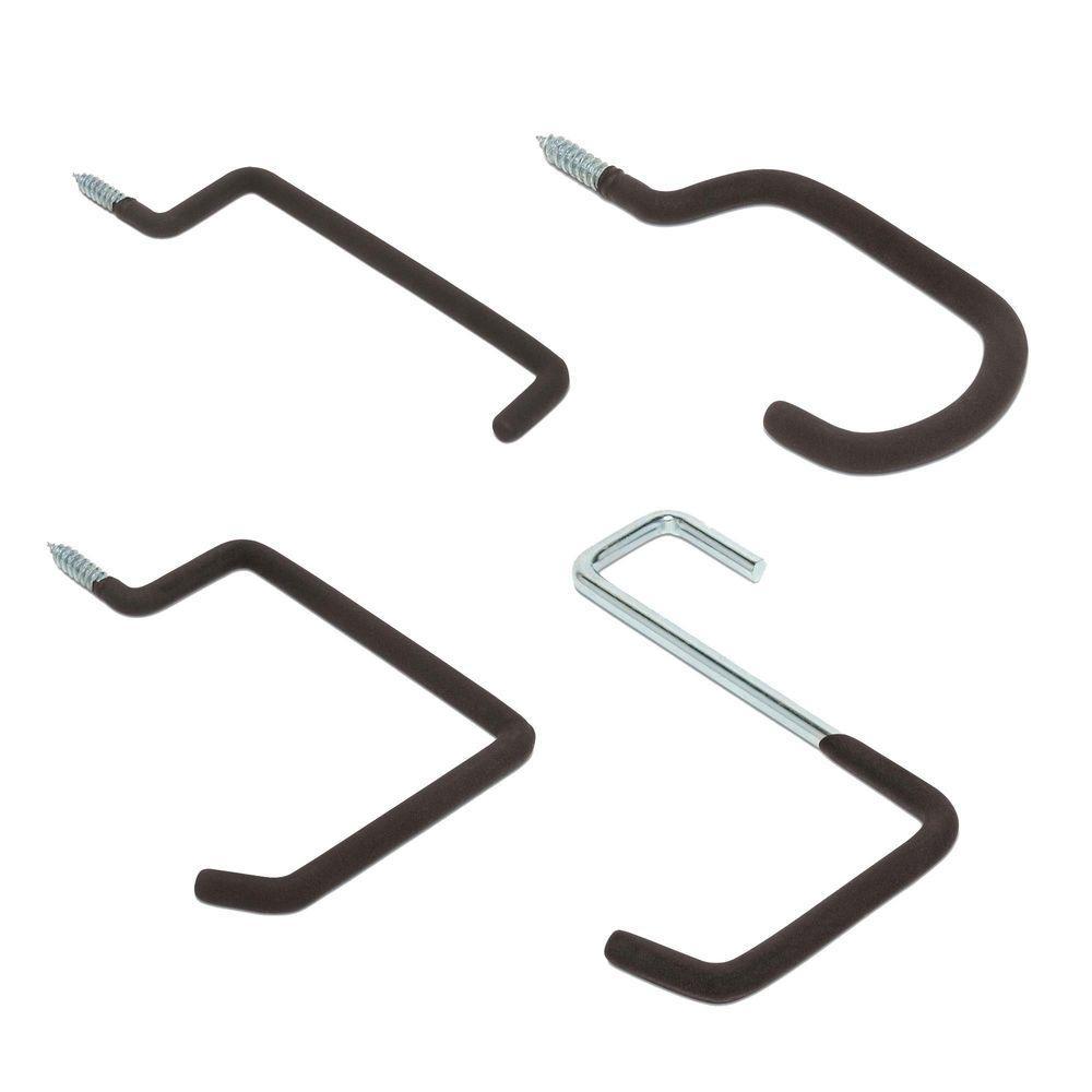 Heavy-Duty Multi-Use Garage Screw-In Hooks Value Pack (8-Pack)