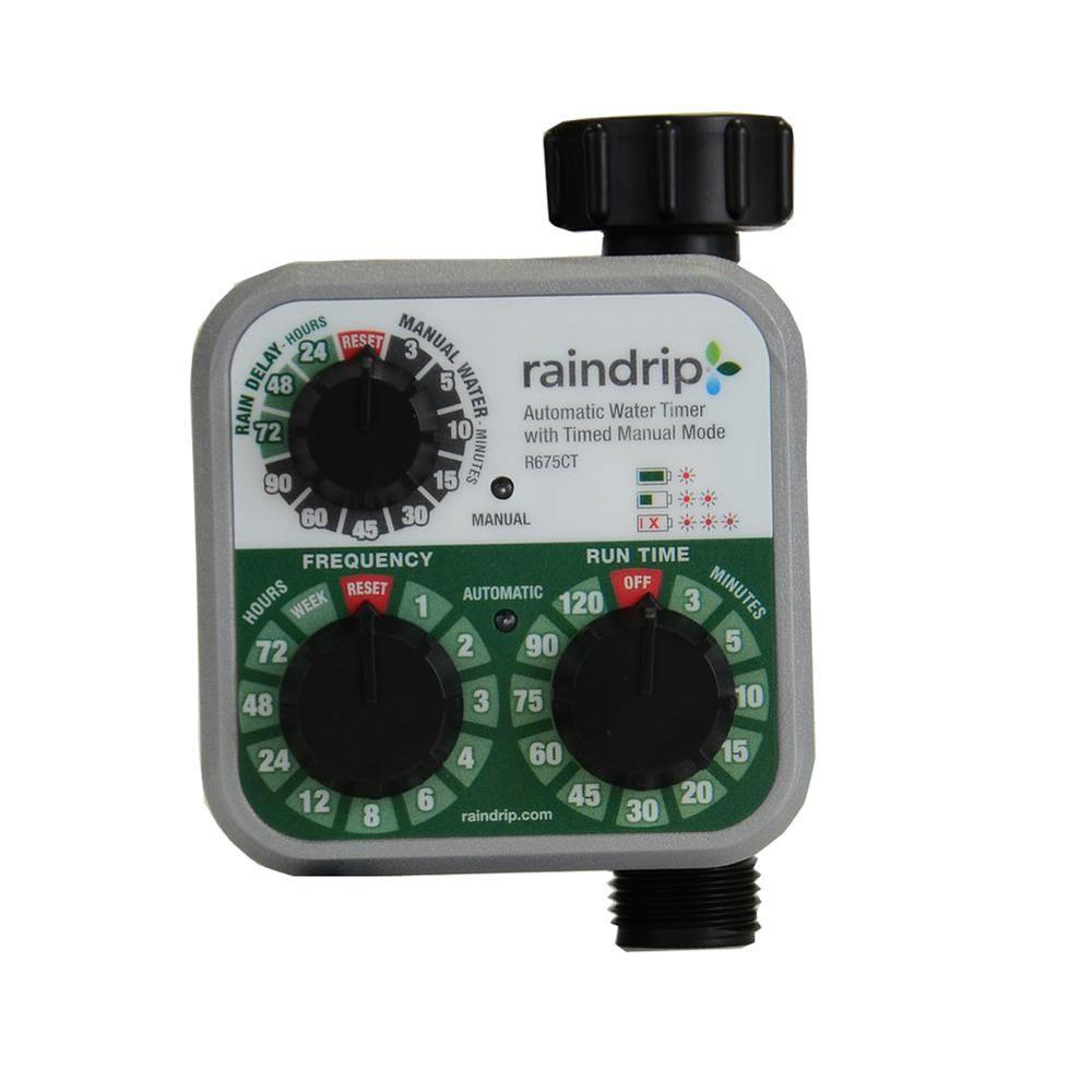 Analog 3 Dial Water Timer