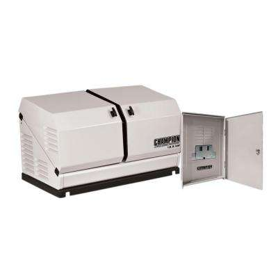 12,500-Watt Air Cooled Automatic Home Standby Generator with 100 Amp 14 Circuit Transfer Switch