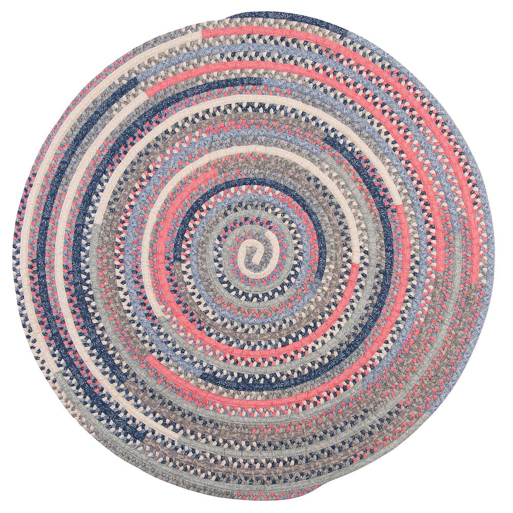 Home Decorators Collection Monica Crushed C 8 Ft X Round Braided Area