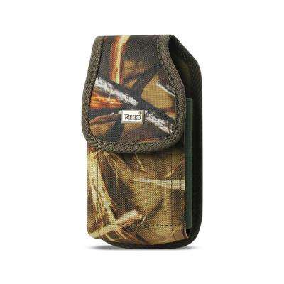 Large Vertical Rugged Holster in Camouflage