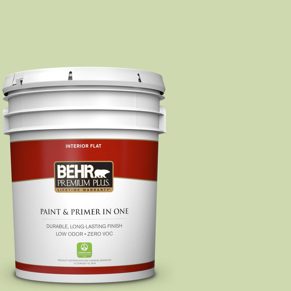 BEHR Premium Plus 5-gal. #P370-3 Chameleon Skin Flat Interior Paint