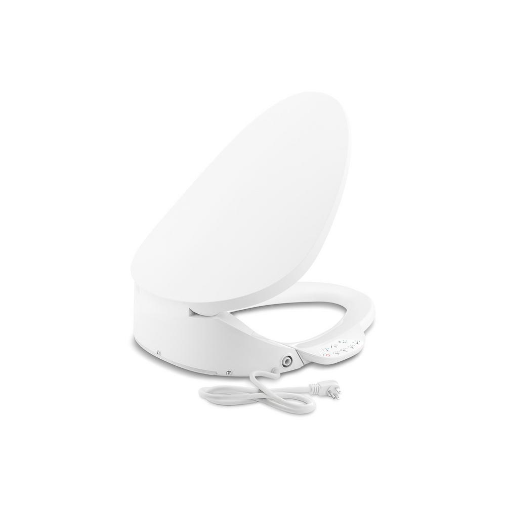 Kohler C3 230 Electric Bidet Seat For Elongated Toilets In