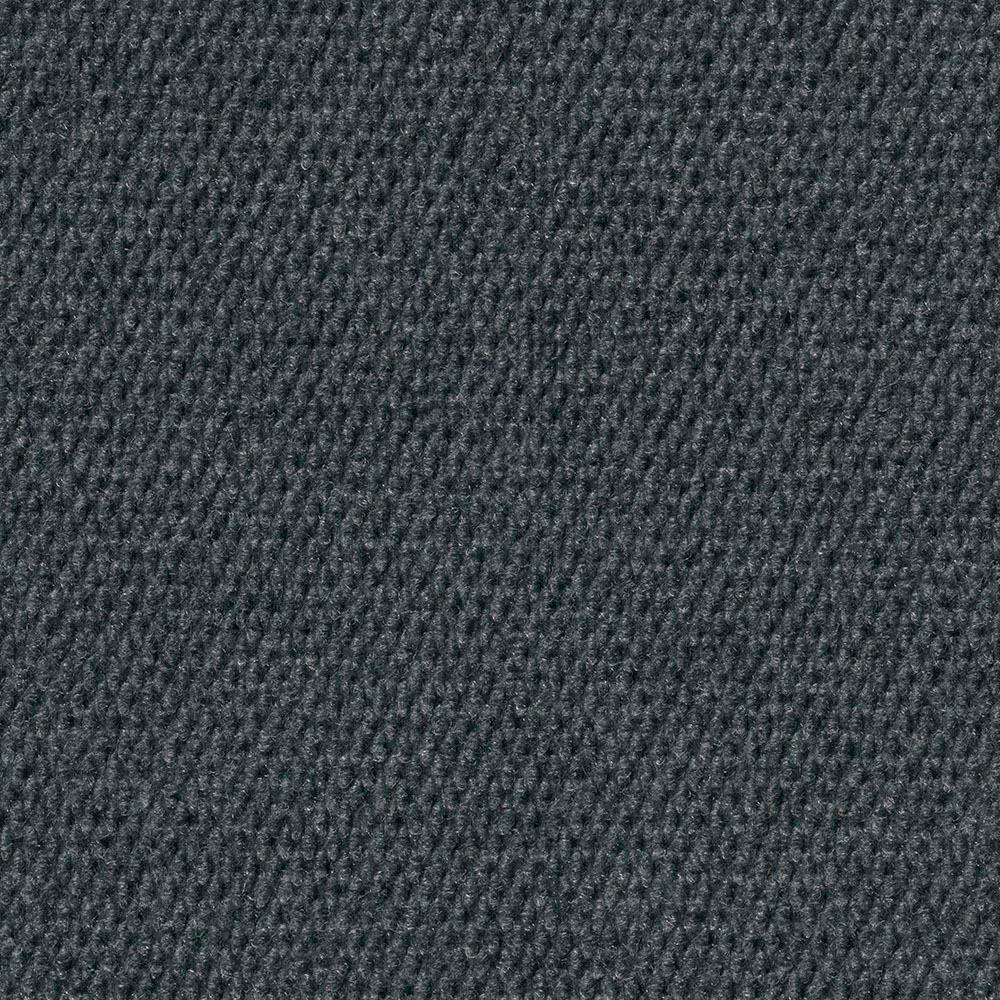 Premium Self-Stick Hobnail Gunmetal Texture 18 in. x 18 in. Indoor/Outdoor Carpet Tile (16 Tiles/Case)