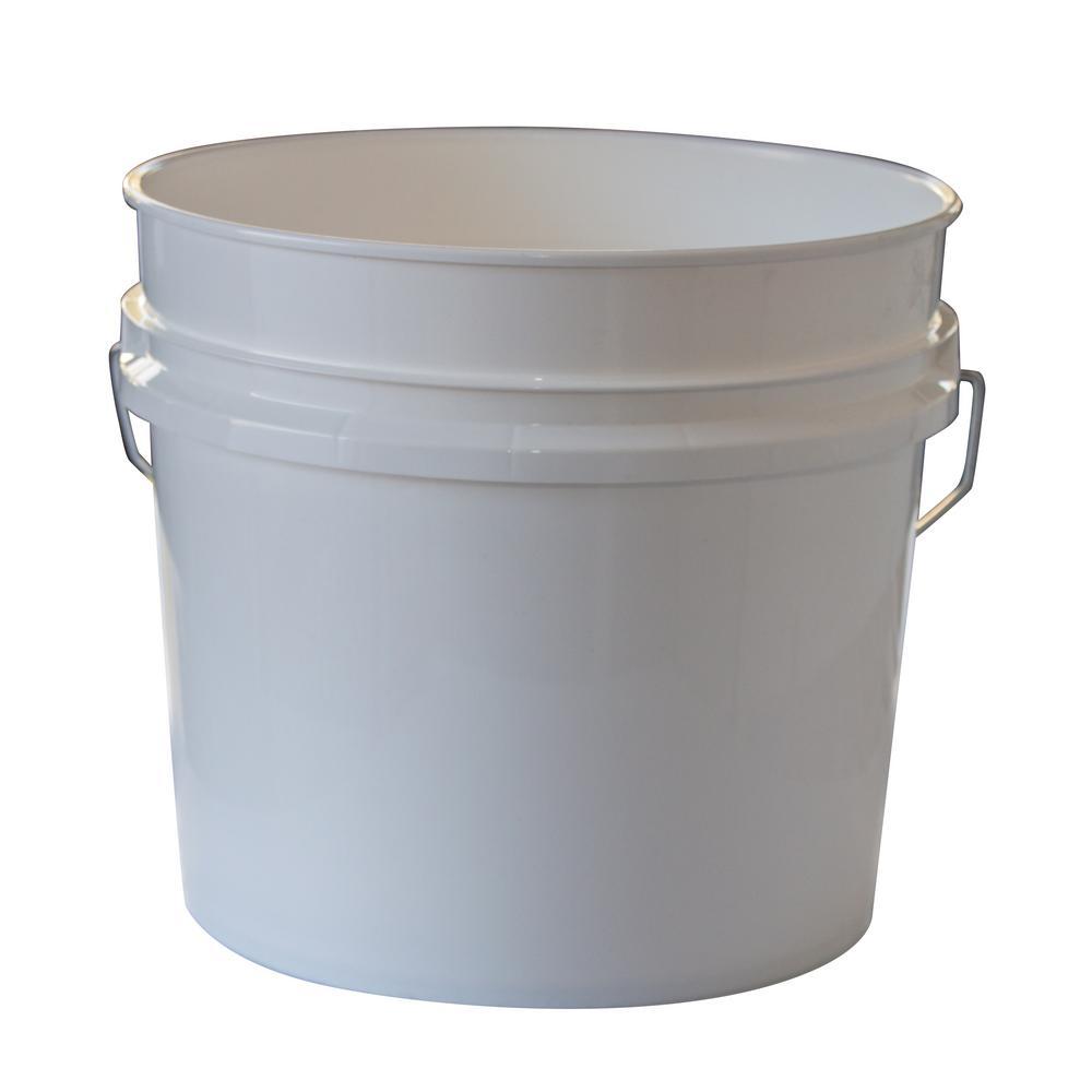 3.5 Gal. White Bucket (10-Pack)