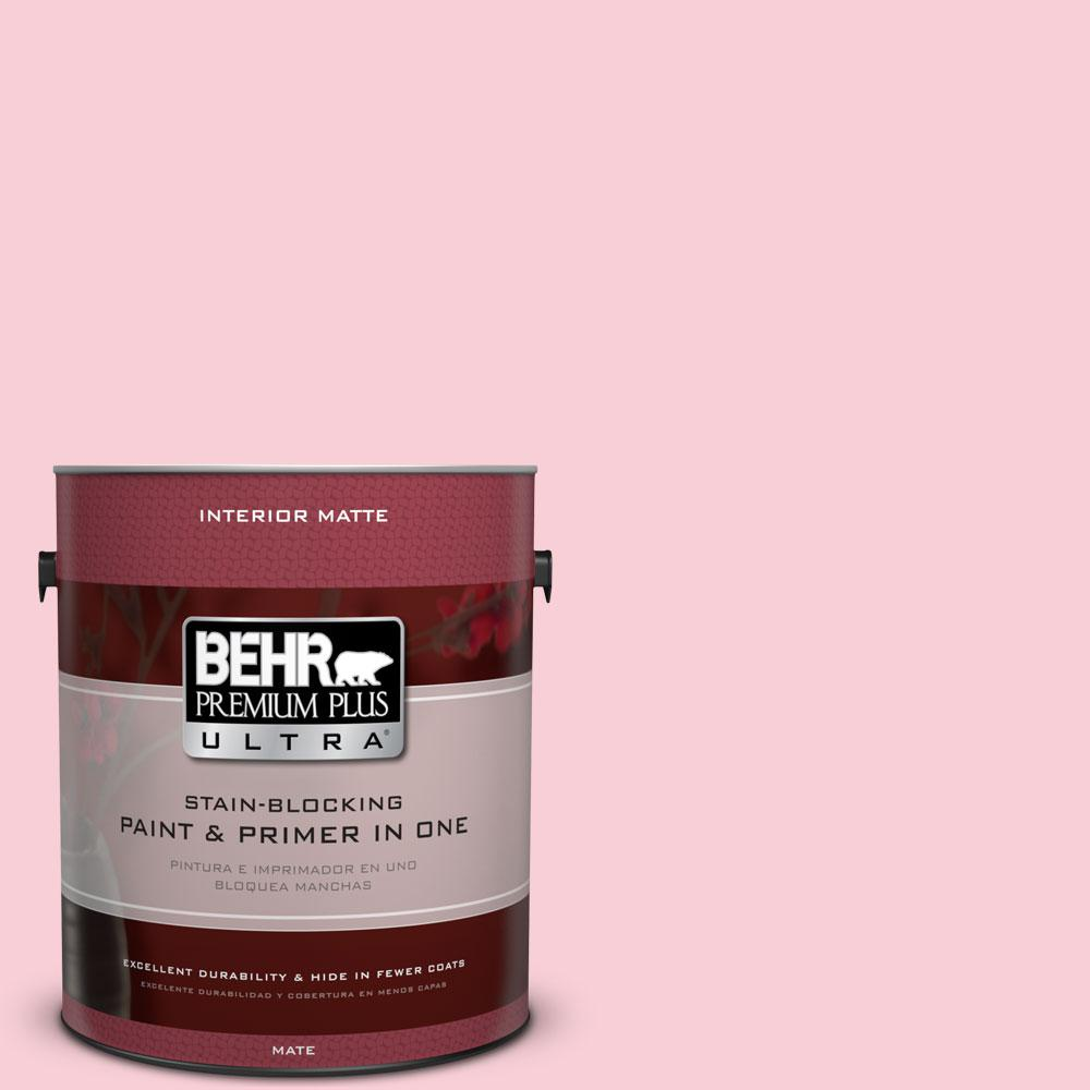 1 gal. #130A-2 Fading Rose Flat/Matte Interior Paint