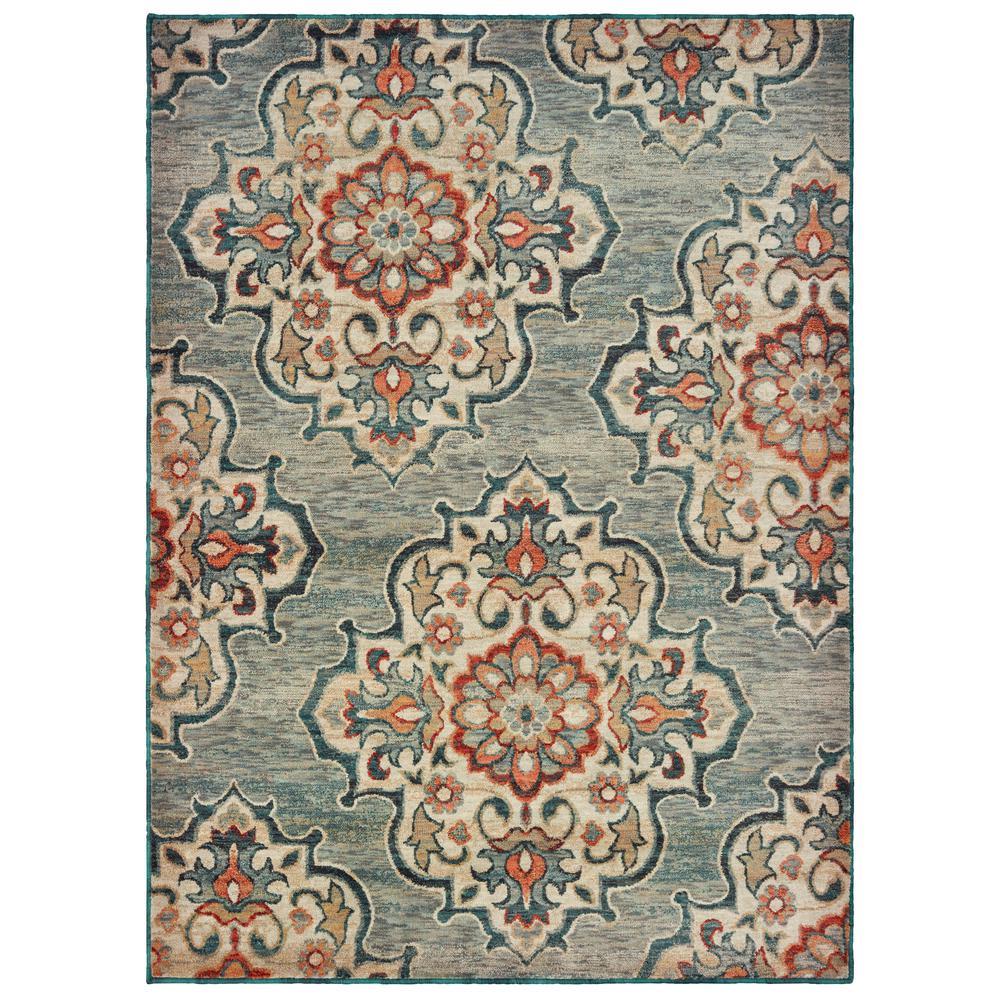 Oriental Weavers Hensley Gray 7 Ft 10 In X 10 Ft Area