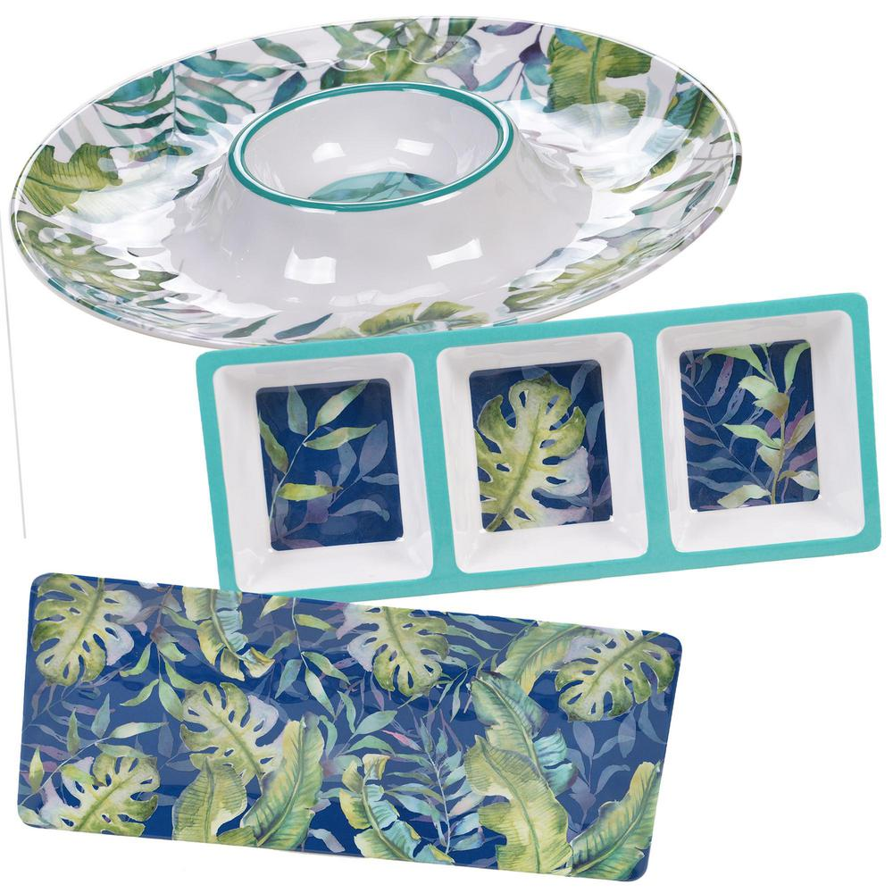 Palm tree melamine dinnerware   Tableware   Compare Prices at Nextag