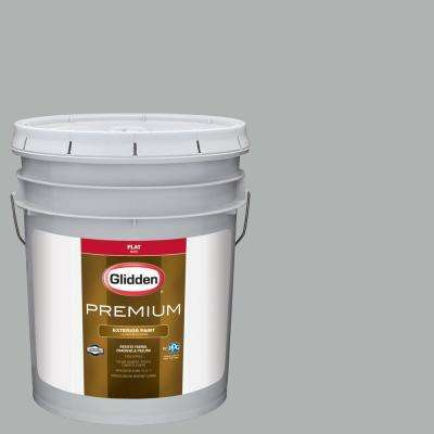 5 gal. #NFL-133B Tampa Bay Buccaneers Silver Flat Exterior Paint