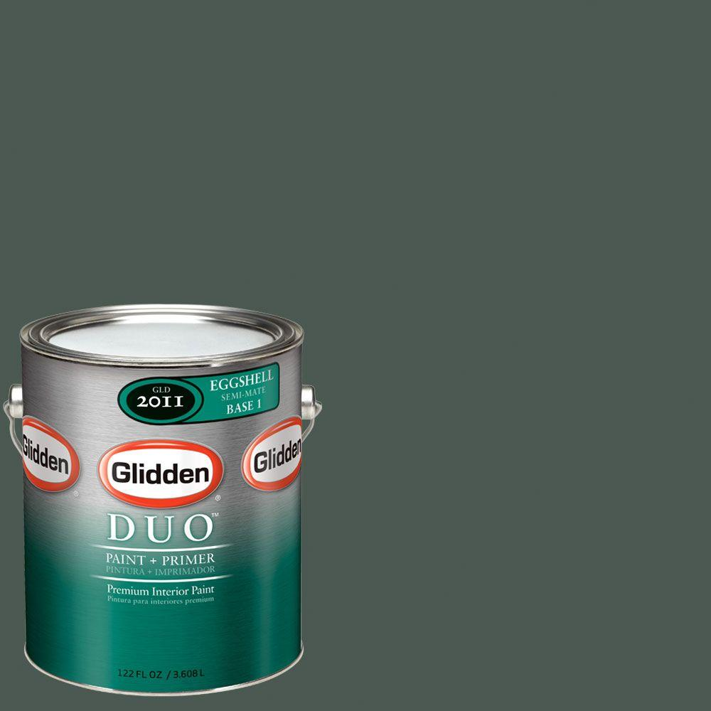 Glidden DUO Martha Stewart Living 1-gal. #MSL139-01E Holly Leaf Eggshell Interior Paint with Primer-DISCONTINUED
