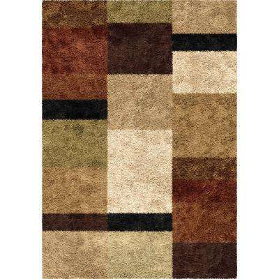 Treasure Box Copper 5 ft. x 8 ft. Indoor Area Rug