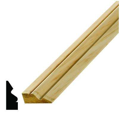 WM 217 11/16 in. x 1-3/4 in. x 96 in. Pine Shingle Moulding