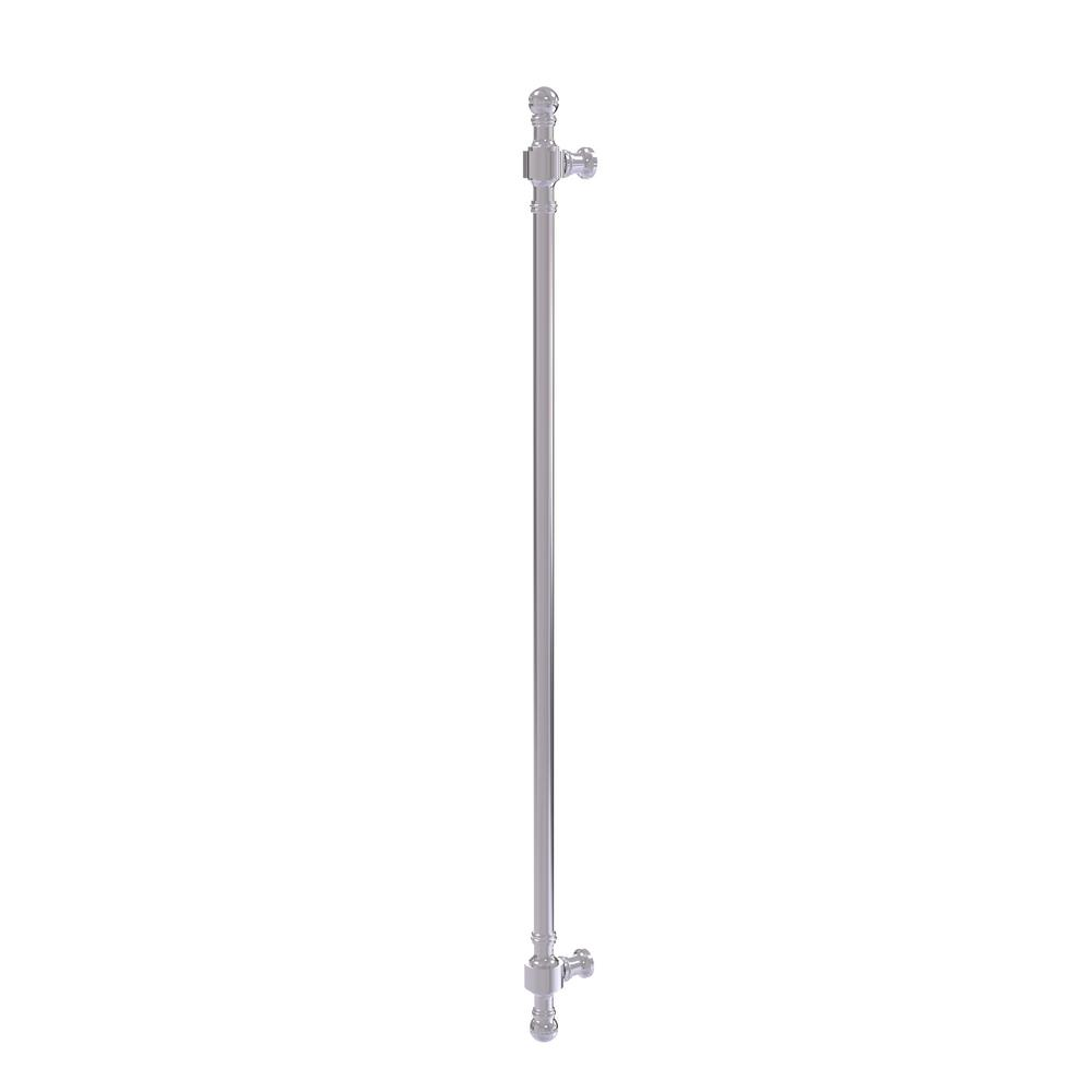 Retro Dot Collection 18 in. Beaded Refrigerator Pull in Polished Chrome