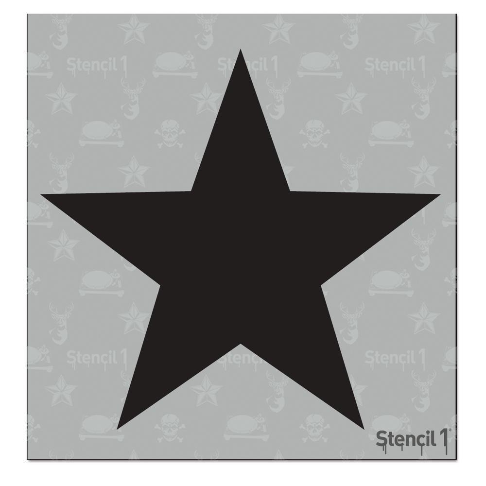 Stencil1 Tattoo Star Small Stencil S1 6p 12 S5 The Home