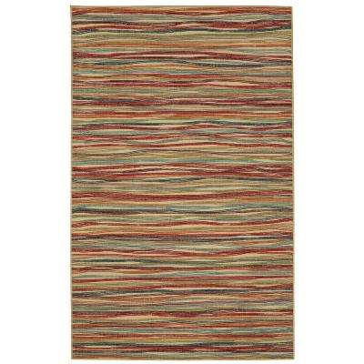 Melody Stripe Multi 5 ft. x 7 ft. Area Rug
