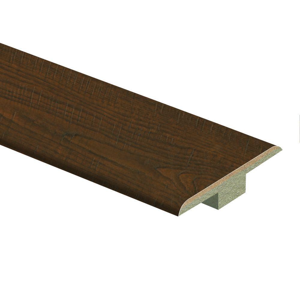 Auburn Scraped Oak 9/16 in. Thick x 1-3/4 in. Wide x 72 in. Length Laminate T-Molding