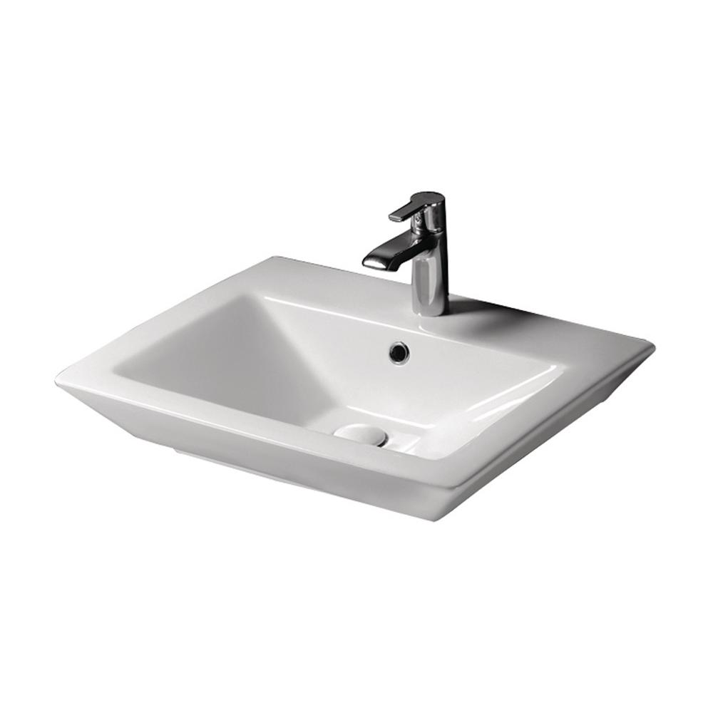 Barclay Products Aristocrat 19 38 In Above Counter Sink Basin In