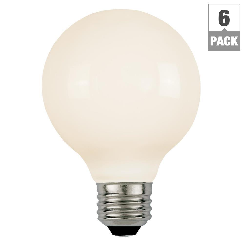Westinghouse 60W Equivalent Soft White G16-1/2 Dimmable