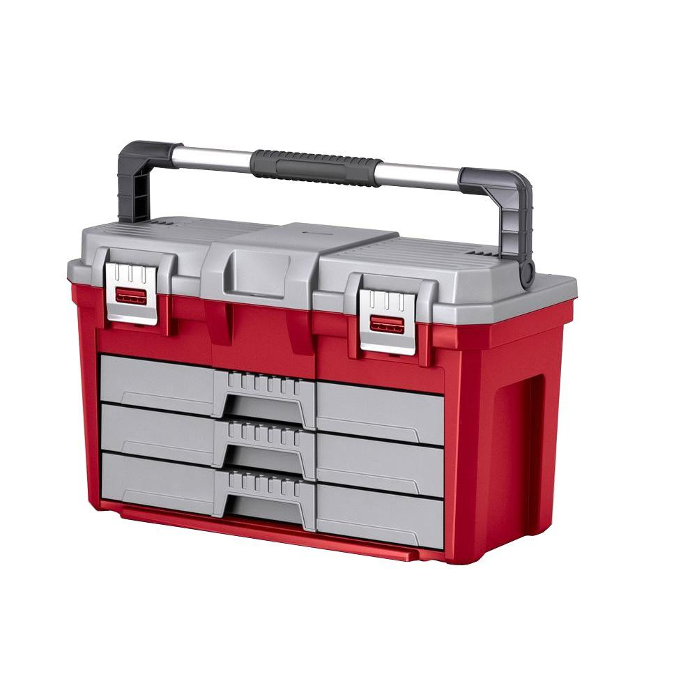 Keter 3-Drawer Tool Box
