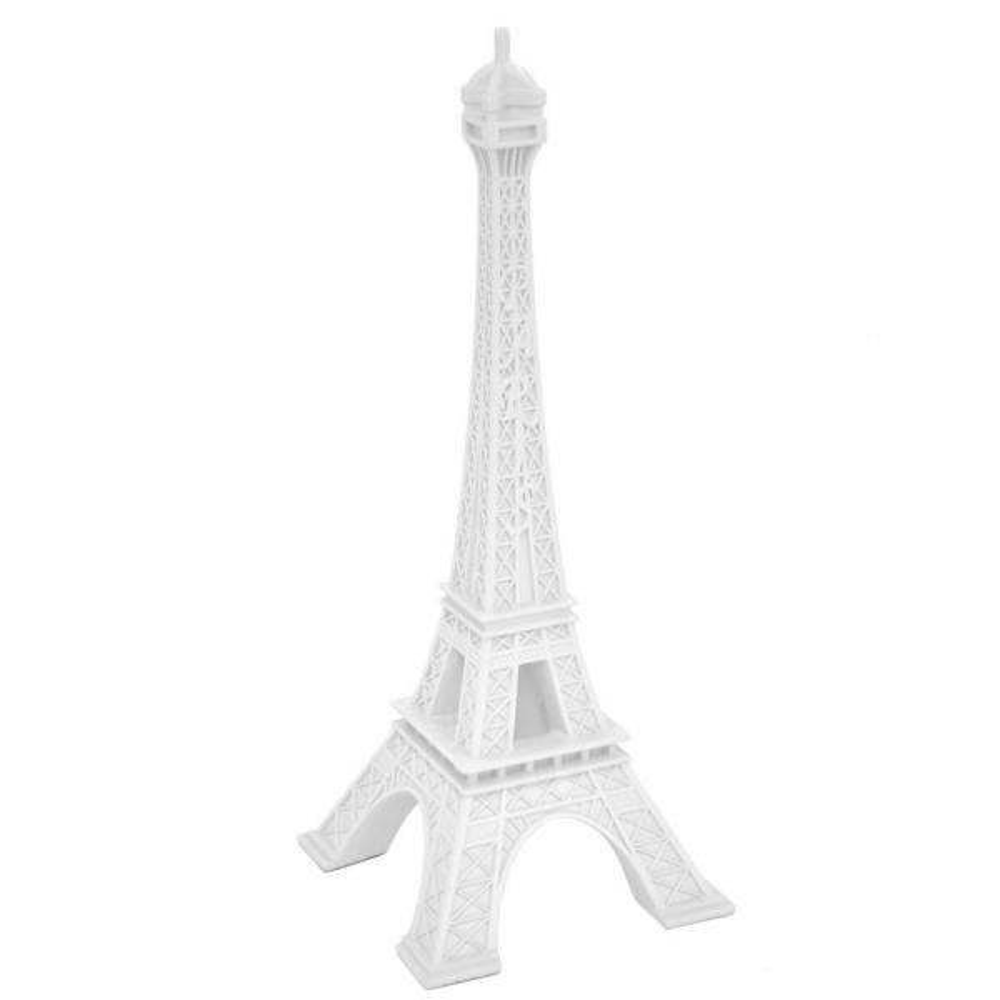 White Eiffel Tower