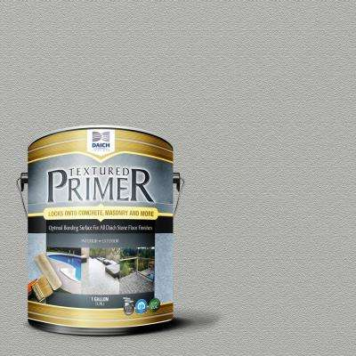 Textured 1 gal. Dolphin Gray Interior Exterior Bonding Primer Penetrating Anti-Slip