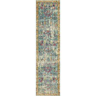 Monterey Adobe Blue 2' 7 x 10' 0 Runner Rug
