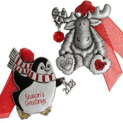 Winter Friends Ornament Set