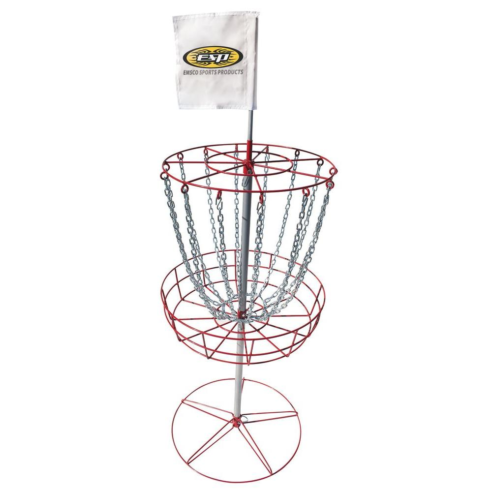 Emsco Disc Golf Goal The Emsco Disc Golf Goal is perfect for beginners and for professional disc golf players. The Emsco Group Outdoor Sport Series Disc Dolf Goal will provide season after season of summer fun. To make a complete kit, add the discs (model #53075).
