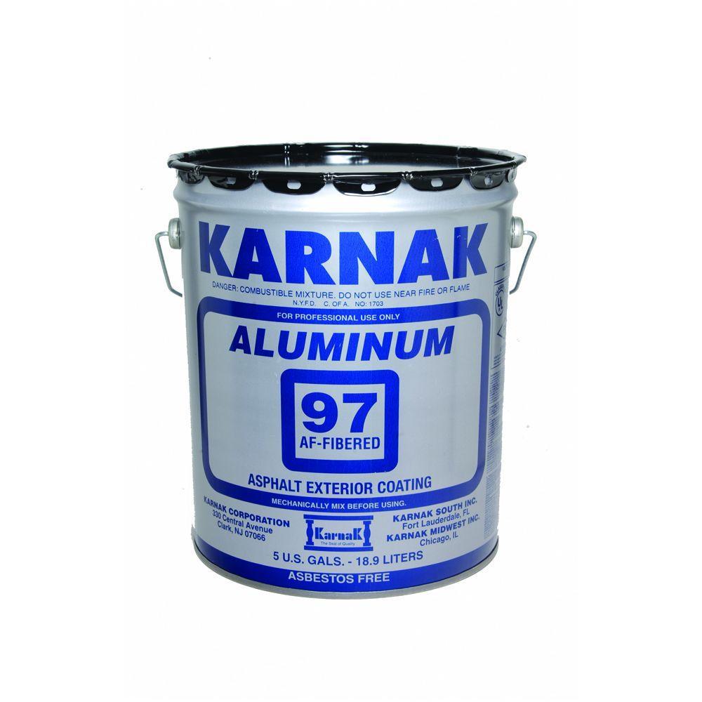 5 Gal. Fibered Aluminum Reflective Rood Coating