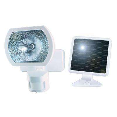 180° White Solar Powered Motion Detection Outdoor Security Light