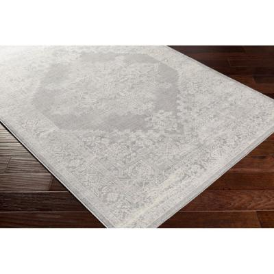 Saray Light Gray 9 ft. x 12 ft. 3 in. Area Rug