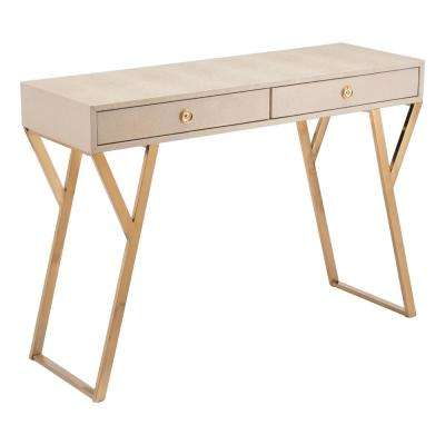 Asti Cream Console Table