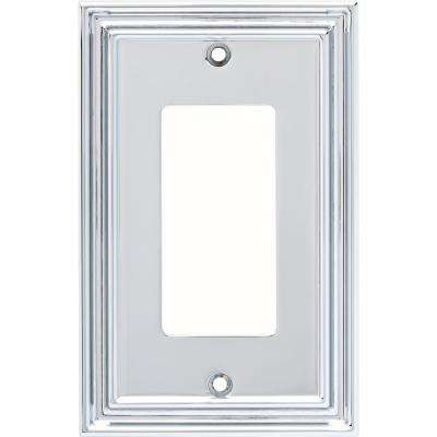 Silverton 1-Gang Decorator, Polished Chrome