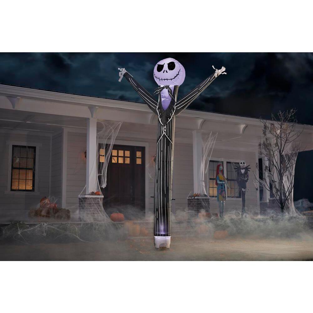 12 ft. Jiggler Jack Skellington Animated Halloween Inflatable